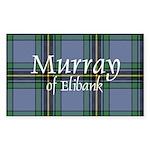 Tartan - Murray of Elibank Sticker (Rectangle 50 p