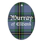 Tartan - Murray of Elibank Ornament (Oval)