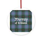 Tartan - Murray of Elibank Ornament (Round)