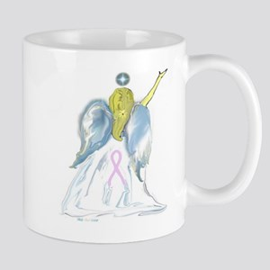 Breast Cancer Angel Mug