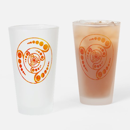 Unique Crop circles Drinking Glass