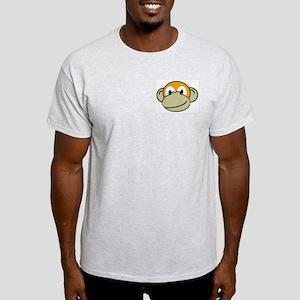 Evolution the Monkey Ash Grey T-Shirt