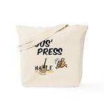 Jus Press Tote Bag