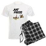 Jus Press Men's Light Pajamas
