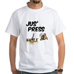 Jus Press White T-Shirt