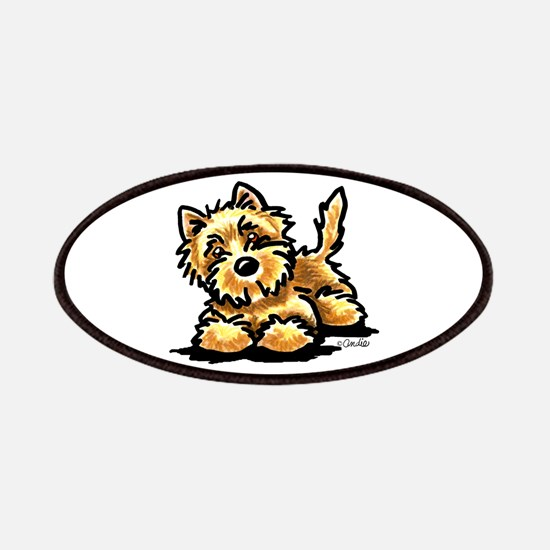 Wheaten Cairn Terrier Patches