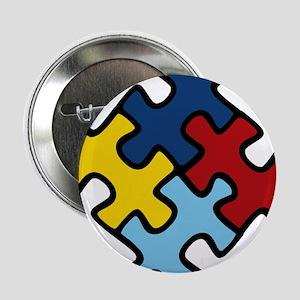 "Autism Awareness Puzzle 2.25"" Button"