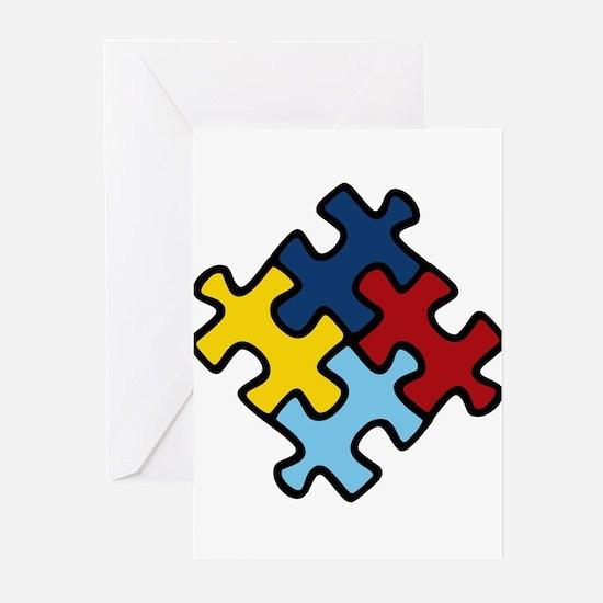 Autism Awareness Puzzle Greeting Cards (Pk of 10)