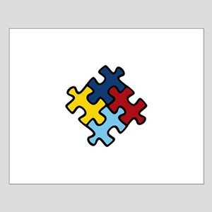 Autism Awareness Puzzle Small Poster