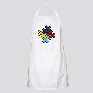 Autism Awareness Puzzle Apron
