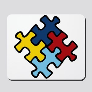 Autism Awareness Puzzle Mousepad