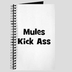 Mules Kick Ass Journal