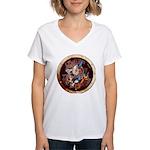 SPSCporthole Women's V-Neck T-Shirt