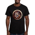 SPSCporthole Men's Fitted T-Shirt (dark)