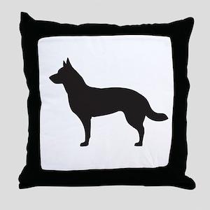 German Shepard Throw Pillow