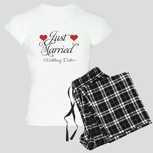 Just Marrried (Add Wedding Date) Women's Light Paj