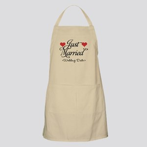 Just Marrried (Add Wedding Date) Apron