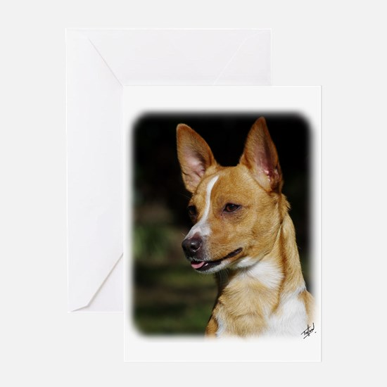 Portuguese Podengo AA020D-041 Greeting Card