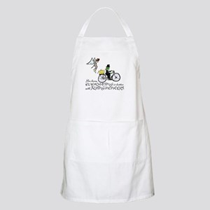 better with flying monkeys Apron