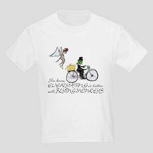 better with flying monkeys Kids Light T-Shirt