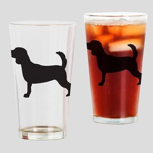 Beagle Drinking Glass