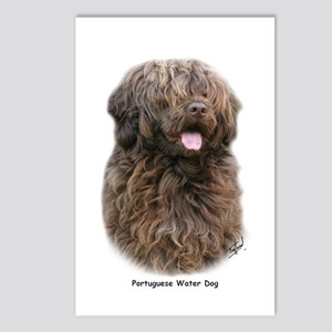 Portuguese Water Dog 9Y160D-023 Postcards (Package