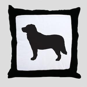 Bernese Mountain Dog Throw Pillow