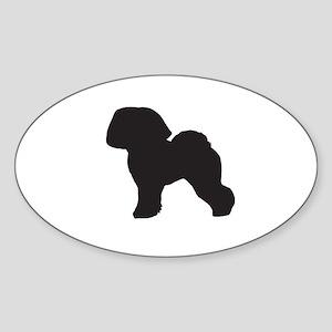 Bichon Frise Sticker (Oval)