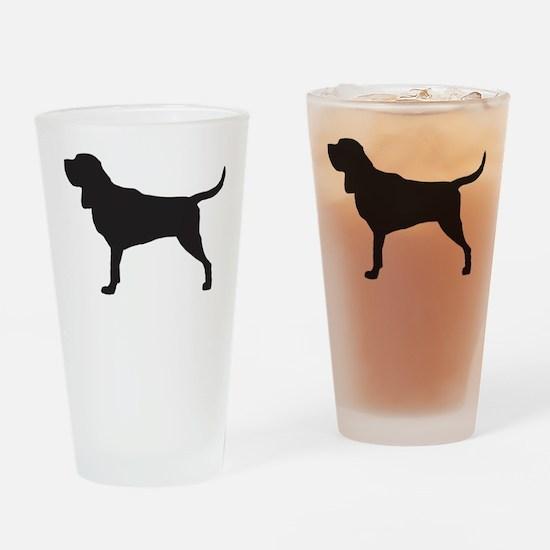 Bloodhound Drinking Glass
