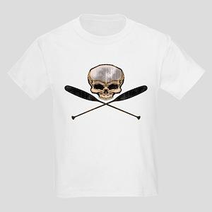 SKULL OARS CROSSBONES Kids Light T-Shirt