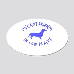 Friends Low places Wall Decal