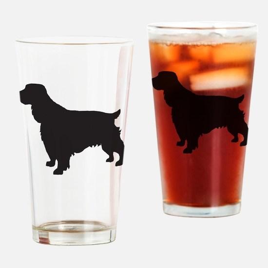 Cocker Spaniel Drinking Glass