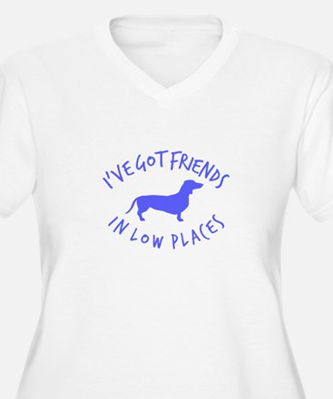 Friends Low places Plus Size T-Shirt
