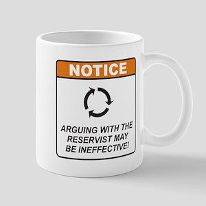 Reservist / Argue Mug