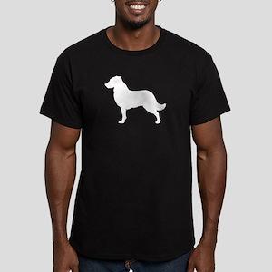 Retriever Men's Fitted T-Shirt (dark)