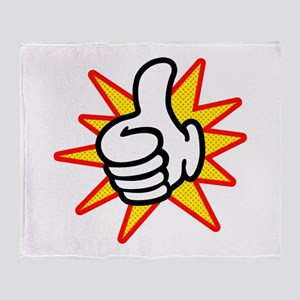 Thumbs Up Throw Blanket