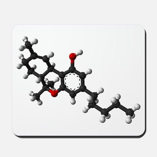 THC/Cannabis/Marijuana Mousepad