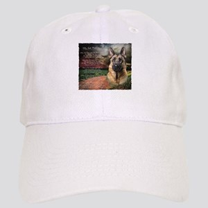 """Why God Made Dogs"" GSD Cap"