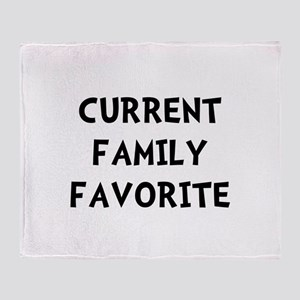 Current Family Favorite Throw Blanket