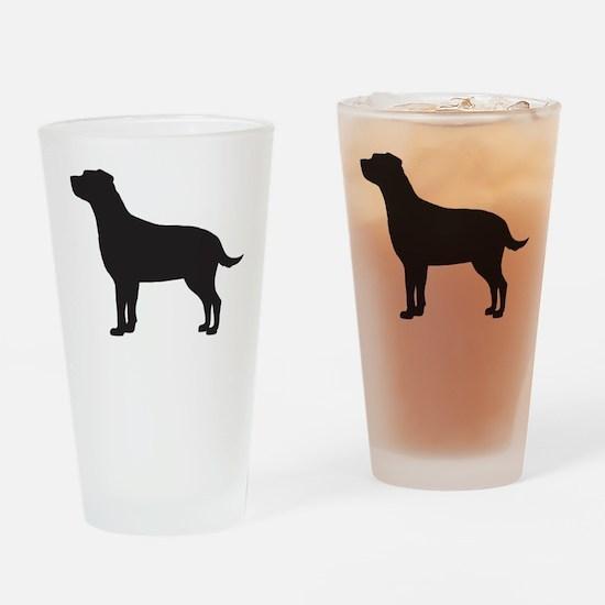 Labrador Drinking Glass