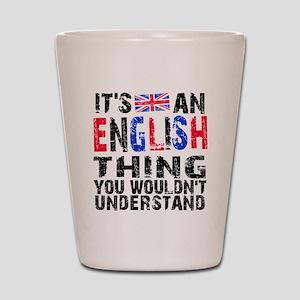 English Thing Shot Glass