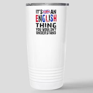 English Thing Stainless Steel Travel Mug
