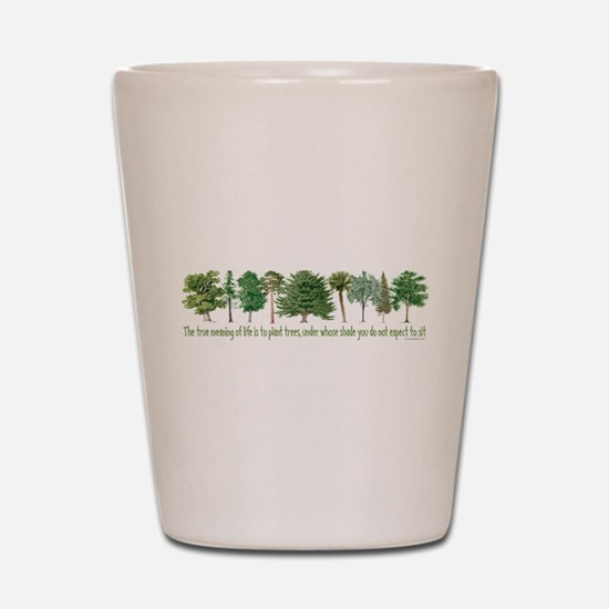 Plant a Tree Shot Glass