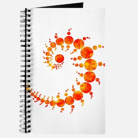Cute Crop circles Journal