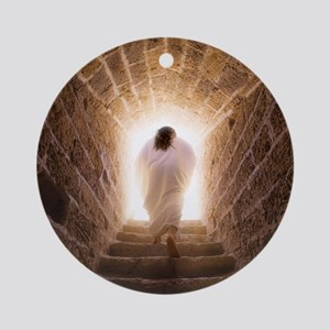 ''Resurrection of Jesus'' Ornament (Round)