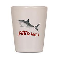 Shark - Feed Me Shot Glass