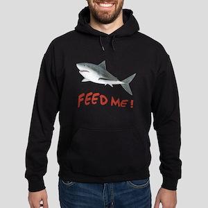 Shark - Feed Me Hoodie (dark)