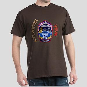 STS 117 Actual Crew Dark T-Shirt