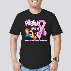 Breast Cancer Awareness Month Men's Fitted T-Shirt