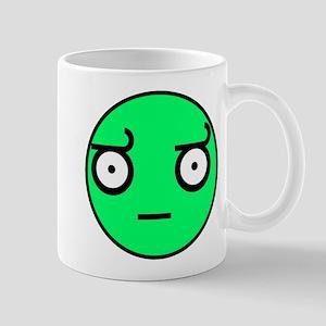 look of disapproval comic mem Mug